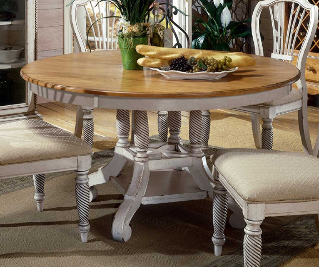 Hillsdale Wilshire Round Oval Dining Table Antique White HD p oval kitchen table Hillsdale Wilshire Round Oval Dining Table Antique White