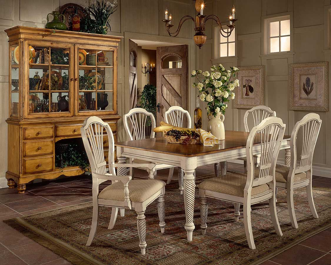Hillsdale Wilshire Rectangular Dining Table Antique White HD p vintage kitchen tables Hillsdale Wilshire Rectangular Dining Table Antique White