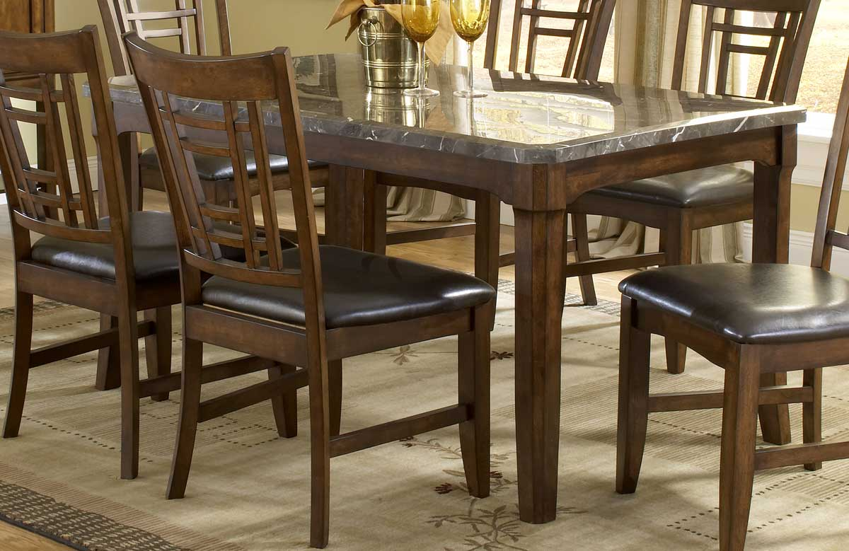 Hillsdale Patterson Rectangle Marble Top Dining Table HD p marble top kitchen table Hillsdale Patterson Rectangle Marble Top Dining Table