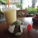 Maracuja-Smoothie in Chiang Mai