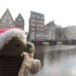 Weihnachtsyoda in Amsterdam