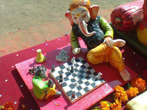 ganesh with mouse