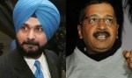 sidhu and kejriwal- punjab election
