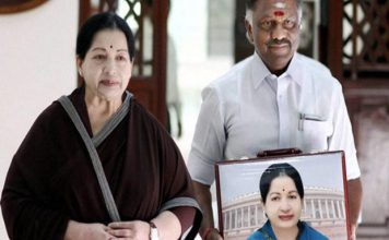 jayalalithaa with Pannirselvam