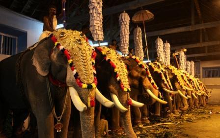 Destruction of Antique and Uniquely Designed Temple Golden Headgear in Kerala