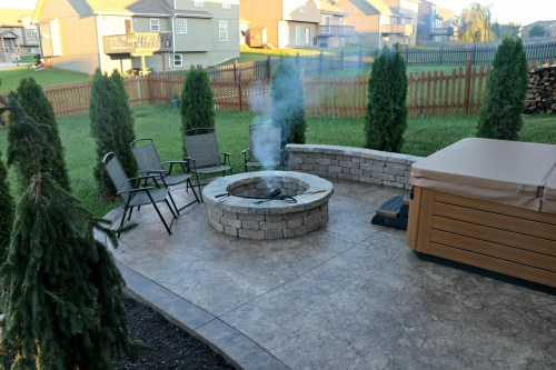 Outstanding Should I Choose A Gas Or Wood Burning Fire Fire Wood Burning Or Gas Your Back Backyard Vs Back Garden