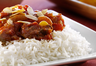 an image of Spiced Lamb Tagine with Rice