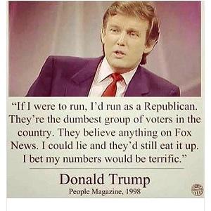 Resultado de imagen para donald trump for president 1998
