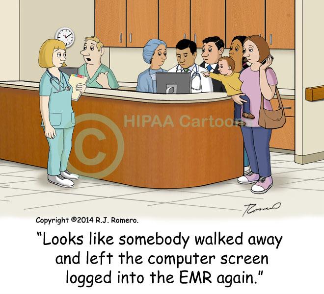 Cartoon-computer-left-logged-on-people-snooping-EMR_emr150