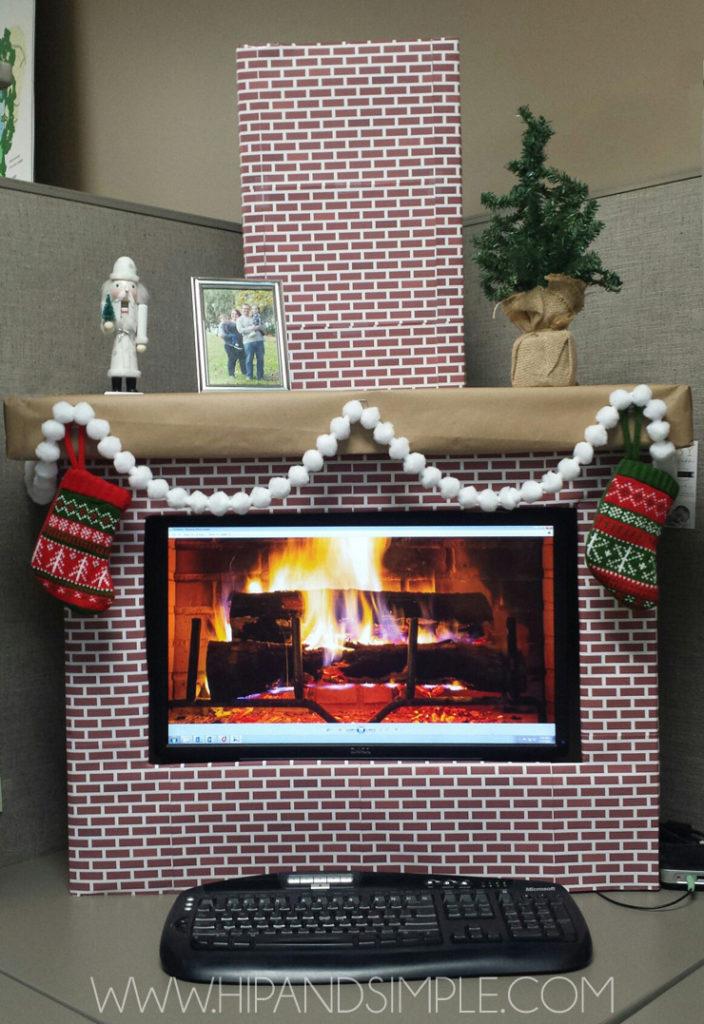 Computer fireplace