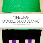 Minecraft Double Sided Blanket