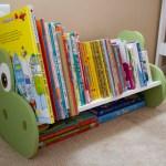 DIY Dinosaur Bookshelf and/or Bench inspired by The Good Dinosaur
