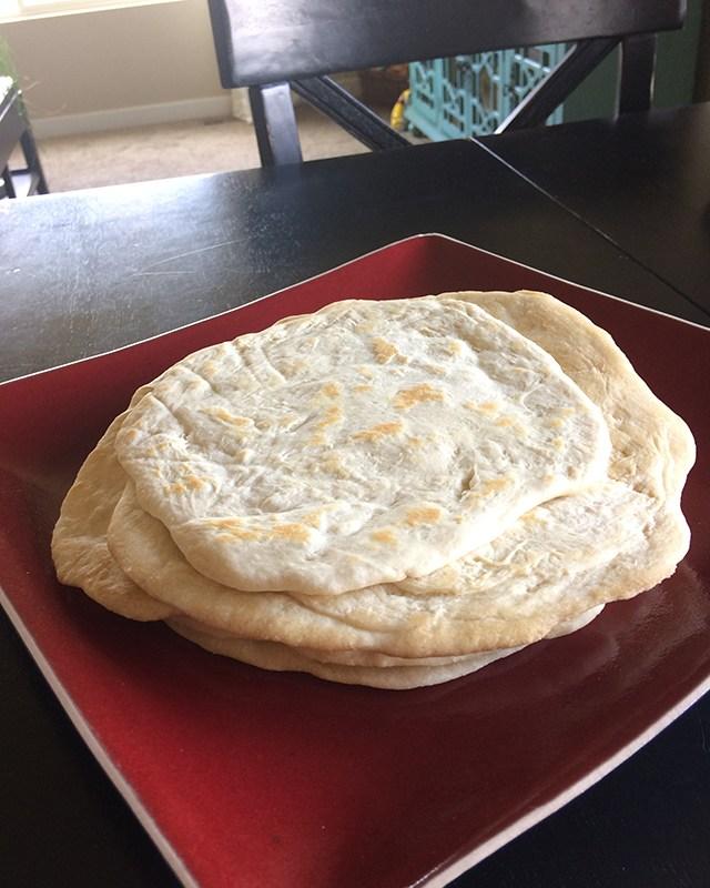 Easy, Thick Homemade Flour Tortillas