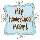 Hip Homeschool Hop Button