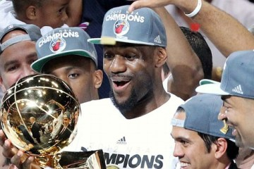 """Miami won the title in their 2nd year as """"The Heatles"""". So, it's a wrap on the rest of the league now. Right?"""