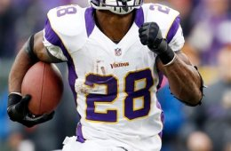 Adrian Peterson's Christmas is probably much better this year than it was in 2011.
