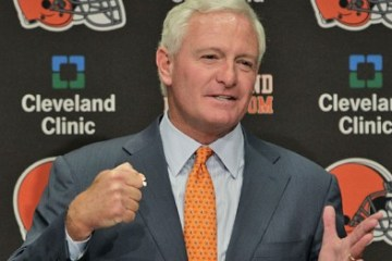 The last Browns owner didn't care at all. Is it possible this owner cares too much?
