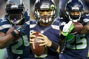 Lynch, Wilson and Sherman have collectively shaped a potential back-to-back Super Bowl Champion.
