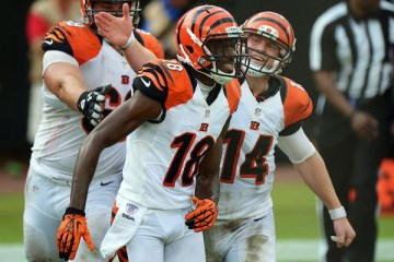 Andy Dalton and A.J. Green are on the prowl for TD's. The rest of the AFC North should take note.