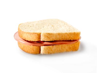 Plain Bologna Sandwich -Photographed on Hasselblad H3D-39mb Camera