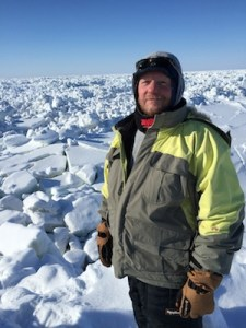 todd sformo in ice field