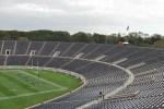 portion of yale's football stadium
