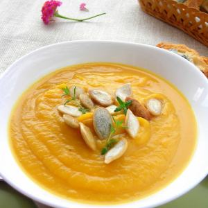 Cream of Butternut Squash & Ginger Soup