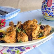 Lemon and Olive Ligurian Pressure Cooker Chicken - Lesson 5: Braise and Glaze Under Pressure