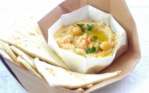 Simply Delicious: Hummus - Pressure Cooked Chickpea Spread