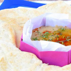 Bessara - Pressure Cooked Moroccan Fava Bean Dip