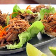 FRESH! Pulled Pork Carnitas Lettuce Wraps