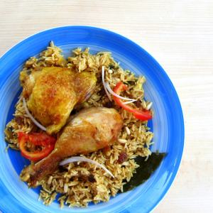 PERFECT Pressure Cooker Chicken and Rice