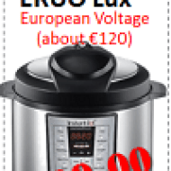 Pressure Cooker Manufacturer Coupon: Instant Pot EURO IP-LUX