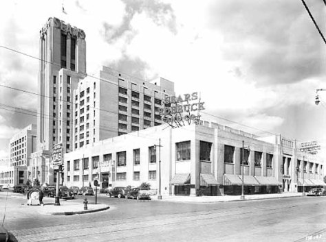 Historical Photo of Sears Building Minneapolis