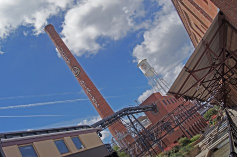 Lucky Strike Smokestack Durham