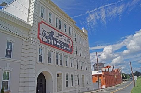Bull Durham Tobacco - Old Bull Building
