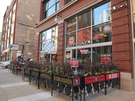 Hipstorical: Eleven City Diner Chicago Exterior