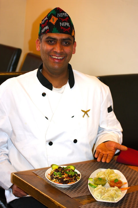 Gurkha Kitchen chef Shiva Marahatta