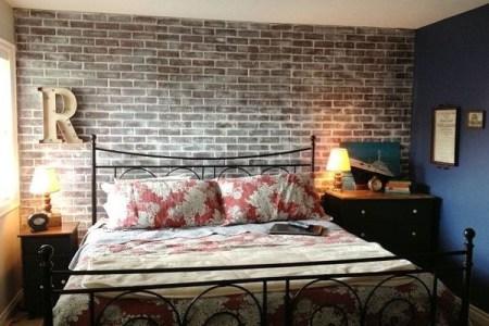 5 ways to diy a faux brick wall | hirerush blog