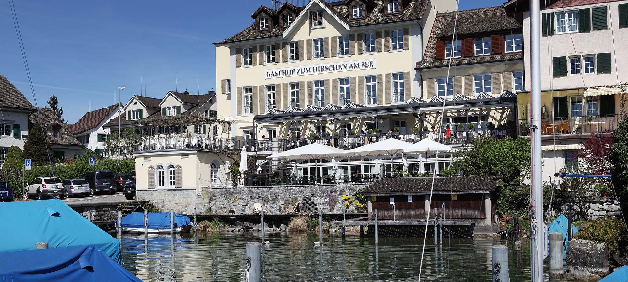 Hirschen Gasthof Hotel Restaurant Lake Zurich Meilen