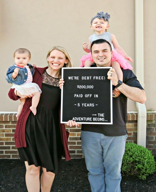 Drew and Farrah Keller Are Debt Free