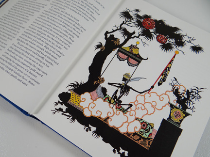 The Nightingale illustration from TASCHEN's Hans Christian Andersen Fairy Tales