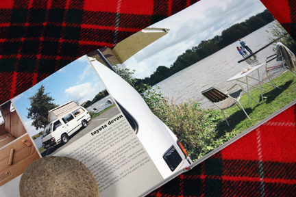 page in My Cool Campervan featuring a Toyota Devon campervan