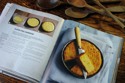 "cornbread recipe from the ""How to Make Bread"" book"