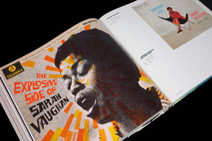 "Sarah Vaughan ""The Explosive Side of Sarah Vaughan"" LP cover"