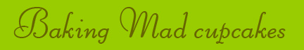 """""Baking Mad cupcakes"" blog post banner"