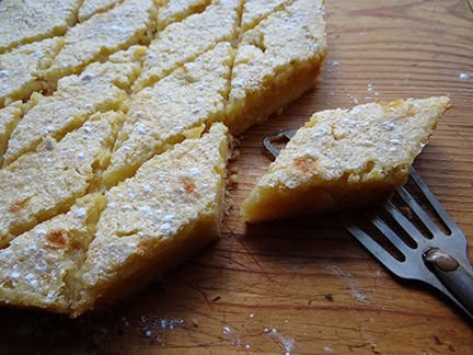 lemon marmalade bars | H is for Home
