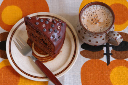 Cakes & Bakes: Mocha fudge cake with coffee icing