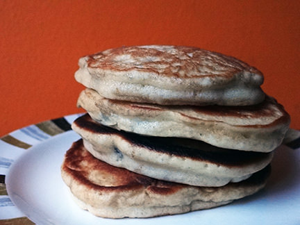 Stack of Pateley fritters | H is for Home