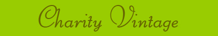 &quot;Charity Vintage&quot; blog post banner